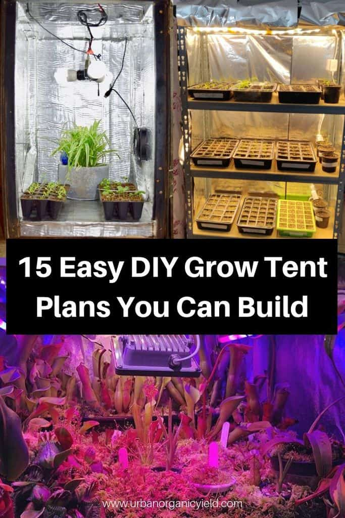 12 Easy DIY Grow tent Ideas For Year Round Indoor Gardening And Seed Starting